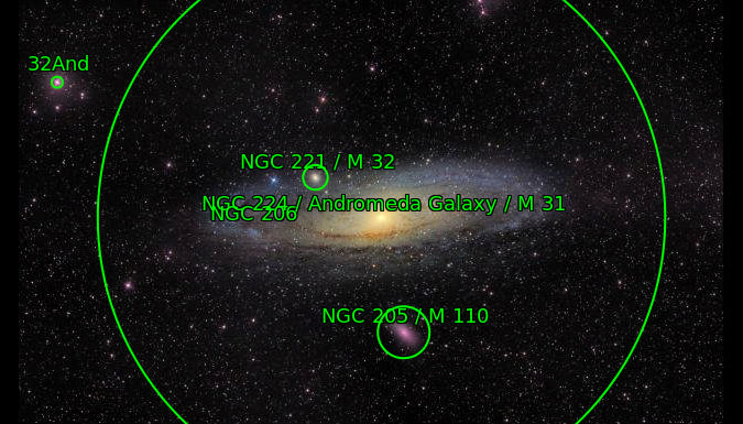 My M31 mosaic according to Astrometry.net