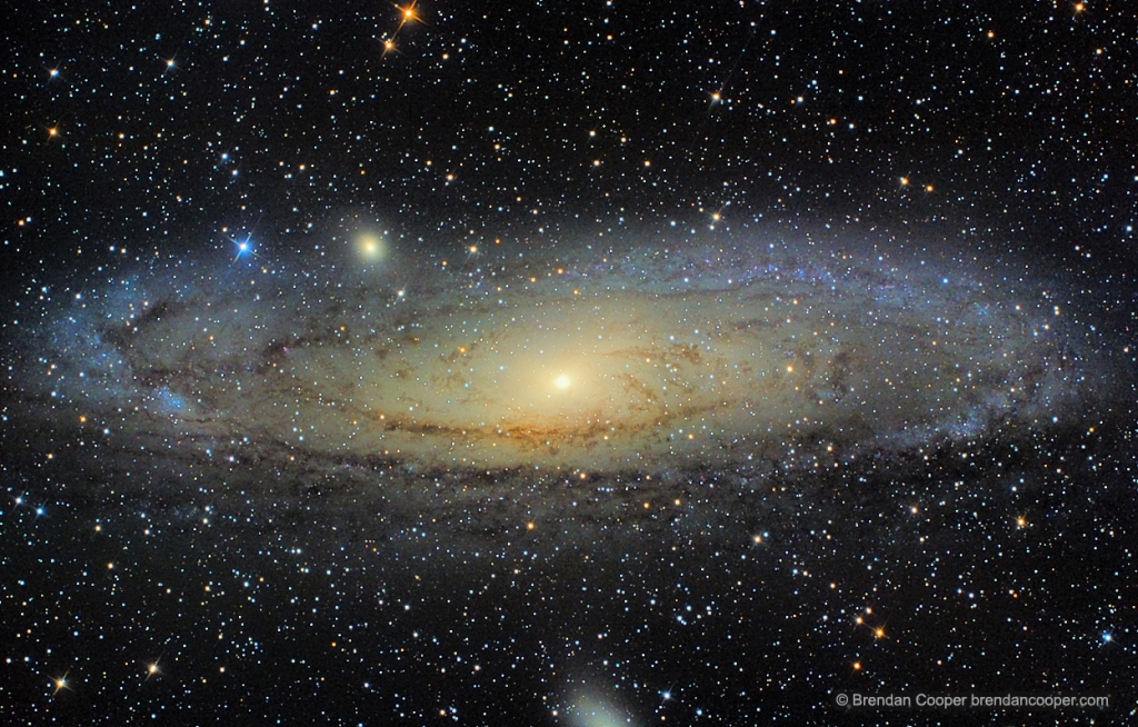 M31, the Andromeda Galaxy. Click for full size.